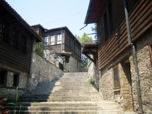 Varna - Steps to Ethnographic Museum